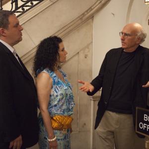 Still of Larry David, Susie Essman and Jeff Garlin in Curb Your Enthusiasm (1999)
