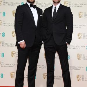 Henry Cavill and Chris Evans