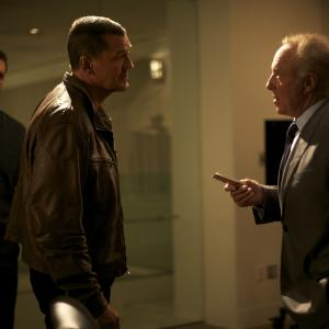 Still of James Caan and Craig Fairbrass in The Outsider (2014)