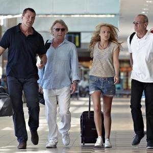 Still of Jon Lovitz, Craig Fairbrass, Rick Parfitt and Francis Rossi in Bula Quo! (2013)