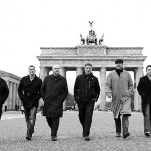 ST Georges Day. The chaps in Berlin.