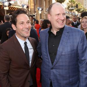 Kevin Feige and Paul Rudd