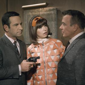 Don Adams, Barbara Feldon, Edward Platt