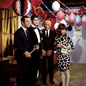 Don Adams, Barbara Feldon, Richard Gautier, Edward Platt