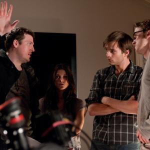 Tom Felton Todd Lincoln and Sebastian Stan in The Apparition 2012
