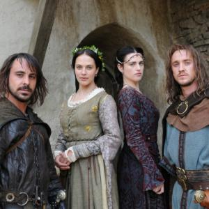 Tom Felton, Emun Elliott, Katie McGrath