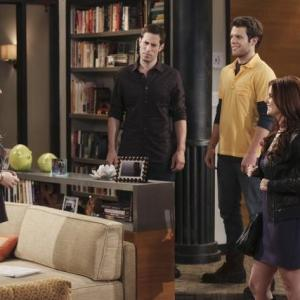 Still of Jennifer Finnigan JoAnna Garcia Swisher Josh Cooke and Jake Lacy in Better with You 2010