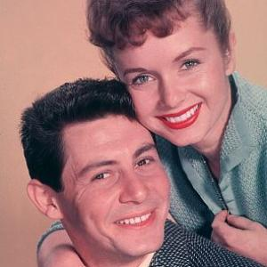 Debbie Reynolds with Eddie Fisher C 1955