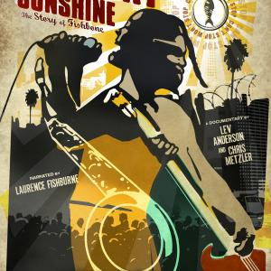 Poster for the feature documentary Everyday Sunshine The Story of Fishbone