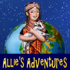 Umbrella title Allies Adventures for series of childrens books by Deborah Smith Ford