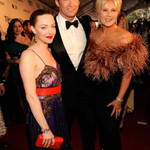 Deborra-Lee Furness, Hugh Jackman, Amanda Seyfried