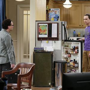 Johnny Galecki, Jim Parsons