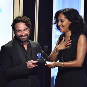 Johnny Galecki, Tracee Ellis Ross