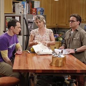 Kaley Cuoco-Sweeting, Johnny Galecki, Jim Parsons