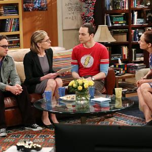 Christine Baranski, Johnny Galecki, Laurie Metcalf, Jim Parsons