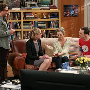 Christine Baranski, Kaley Cuoco-Sweeting, Johnny Galecki, Jim Parsons