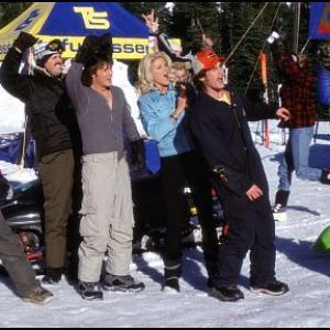Still of Victoria Silvstedt David Denman Zach Galifianakis Derek Hamilton and Jason London in Out Cold 2001