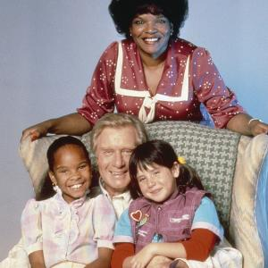 Still of Soleil Moon Frye Susie Garrett George Gaynes and Cherie Johnson in Punky Brewster 1984