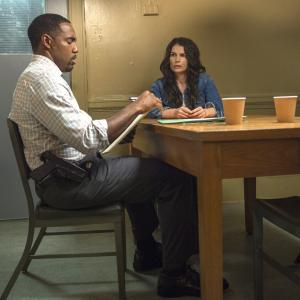 Still of Julia Ormond and Jason George in Witches of East End (2013)
