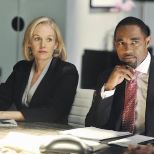 Still of Penelope Ann Miller and Jason George in Mistresses (2013)