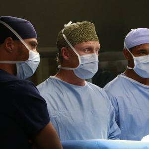 Still of Jason George, Kevin McKidd and Jesse Williams in Grei anatomija (2005)