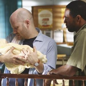 Still of Jason George and Todd Louiso in Off the Map (2011)