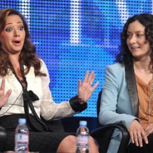 Sara Gilbert and Leah Remini