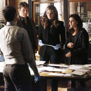 Seamus Dever, Nathan Fillion, Lola Glaudini, Stana Katic, Alexandra Chando, Kelly McCreary