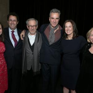 Steven Spielberg, Daniel Day-Lewis, Sally Field, Kathleen Kennedy, Doris Kearns Goodwin, Tony Kushner