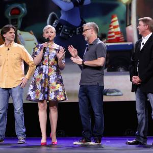 Ginnifer Goodwin, Byron Howard, Rich Moore, Clark Spencer, Howard Rich