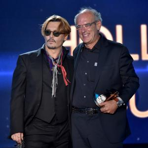 Johnny Depp, Shep Gordon