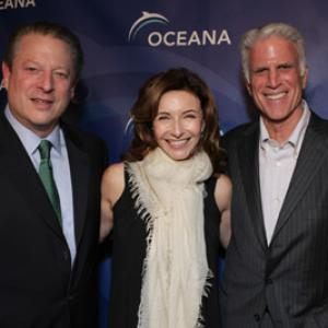 Ted Danson, Mary Steenburgen, Al Gore