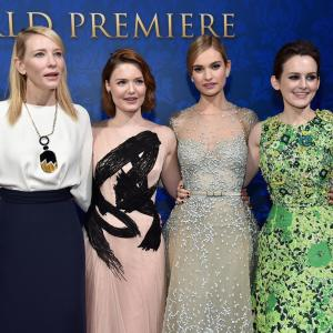 Cate Blanchett, Holliday Grainger, Sophie McShera, Lily James