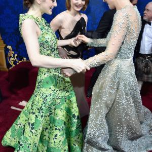 Holliday Grainger, Sophie McShera, Lily James