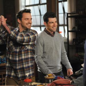 Max Greenfield, Jake Johnson