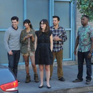 Zooey Deschanel, Max Greenfield, Hannah Simone, Lamorne Morris, Jake Johnson