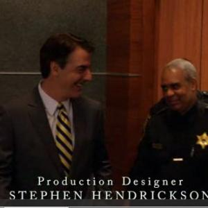 Chris Noth and Larry Gregory on The Good Wife CBS  episode Hi