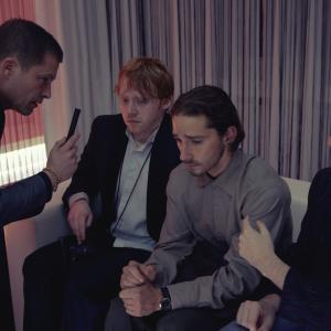 Still of Til Schweiger, James Buckley, Rupert Grint and Shia LaBeouf in The Necessary Death of Charlie Countryman (2013)