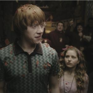 Still of Rupert Grint and Jessie Cave in Haris Poteris ir netikras princas (2009)