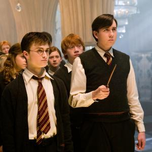 Still of Rupert Grint, Matthew Lewis, Daniel Radcliffe, Emma Watson, Bonnie Wright, James Phelps and Oliver Phelps in Haris Poteris ir Fenikso brolija (2007)