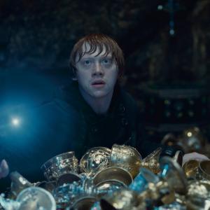 Still of Rupert Grint in Haris Poteris ir mirties relikvijos. 2 dalis (2011)