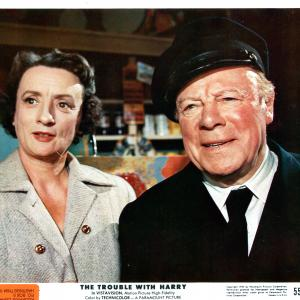 Still of Edmund Gwenn and Mildred Natwick in The Trouble with Harry 1955