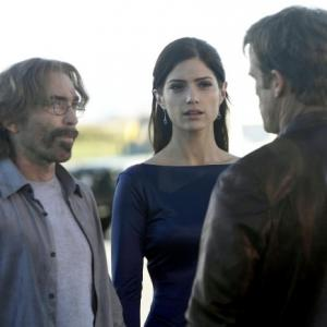 Still of Jackie Earle Haley and Mark Valley in Human Target A Problem Like Maria 2011