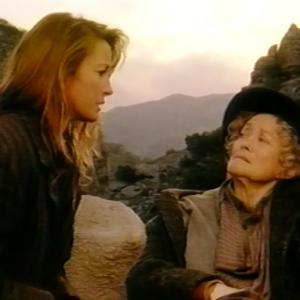 Eve Brenner as Sam Lindsay - with Jane Seymour - on