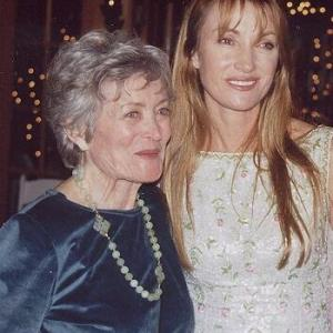 Eve Brenner and Jane Seymour