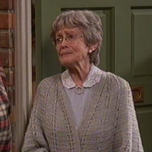 Eve Brenner as Old Lady Meier on