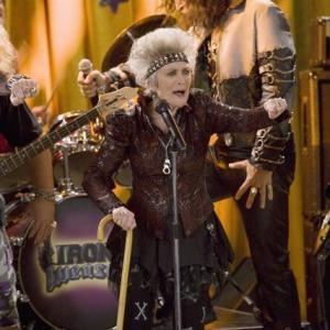 Eve Brenner (with Steve Valentine, background) as Grandma Nana on