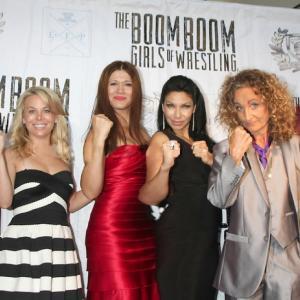 The Boom Boom Girls of Wrestling