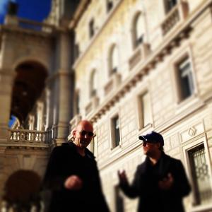 In Trieste, Italy with Reynald Gresset, april 2014