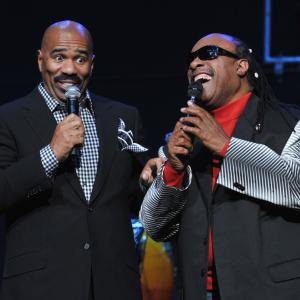 Stevie Wonder, Steve Harvey